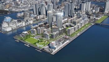 東京オリンピック「選手村」は大会後、近未来環境先進都市のモデルに